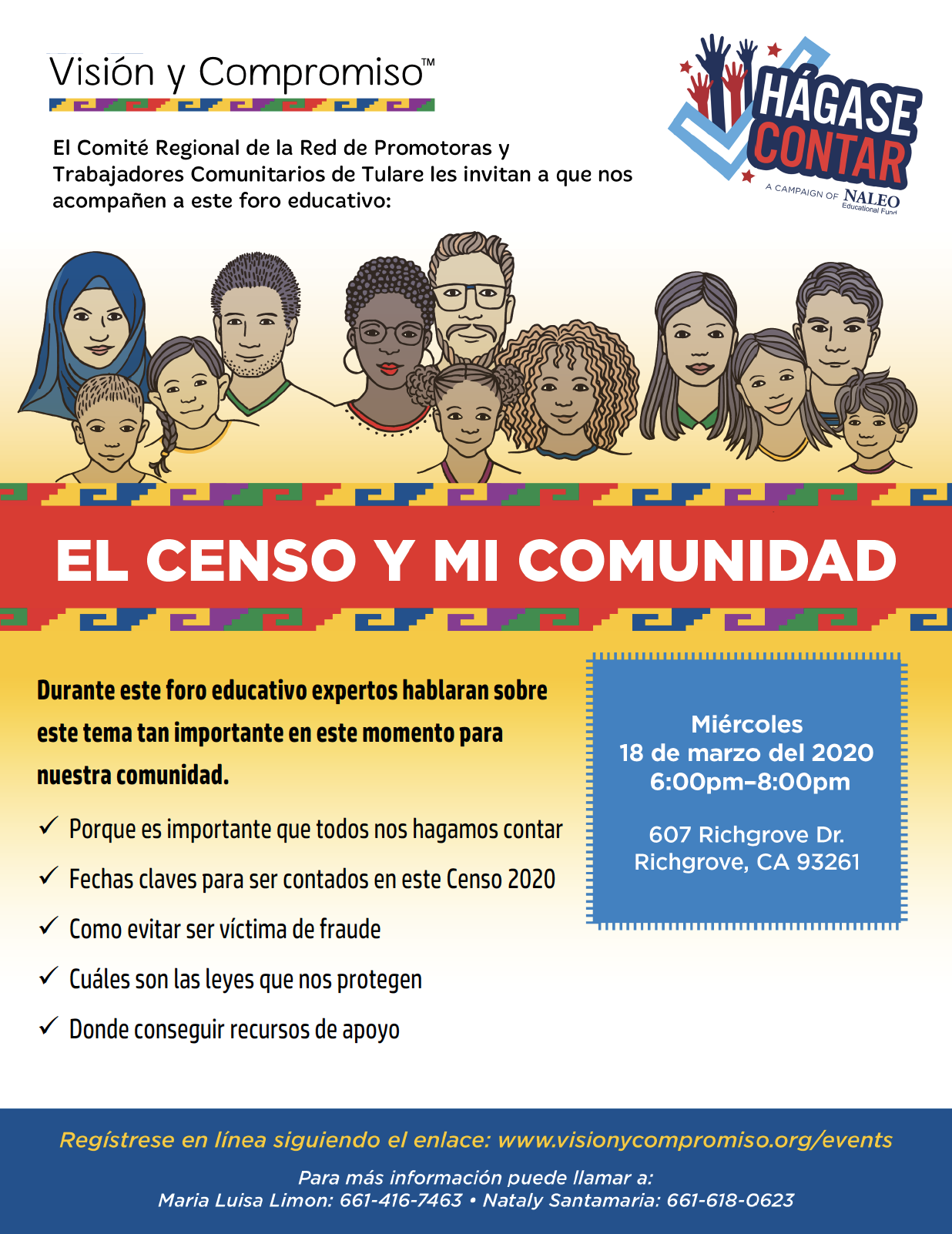 Censo y mi comunidad